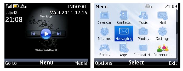 Windows Media Player 11 | Nokia C3 Theme