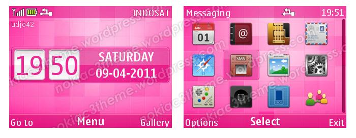udjo42 | High Quality Nokia Themes: Pink Pixels