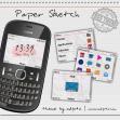 Paper Sketch ftor Nokia C3, Asha 200, Asha 201